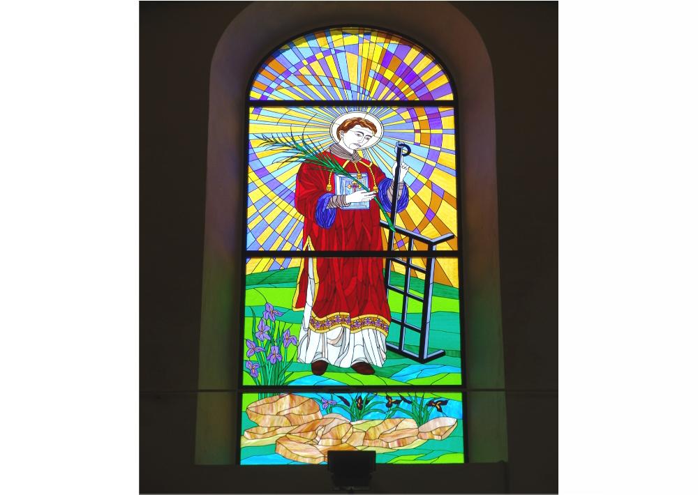 San Lorenzo in Martire- religioso-chiesa-grande vetrata