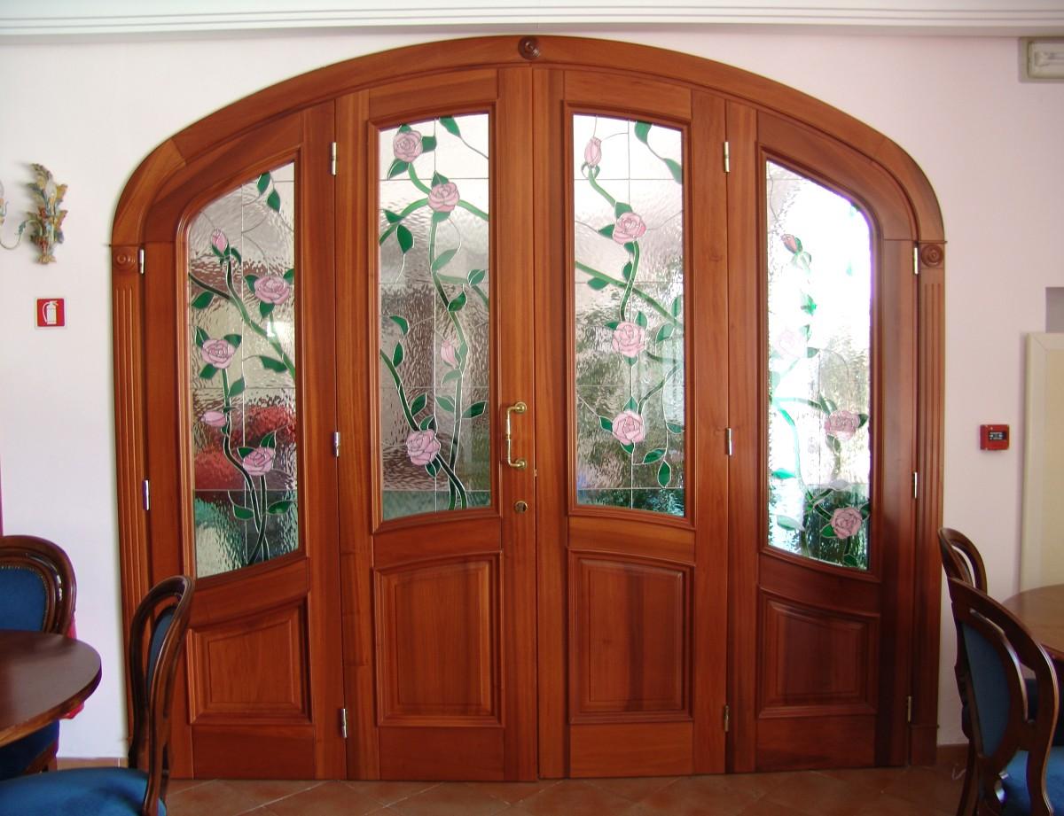 Vetrate In Sala Da Pranzo Mosaici E Vetri D'Arte Provenzano #7C331B 1200 921 Sala Da Pranzo Fai Da Te